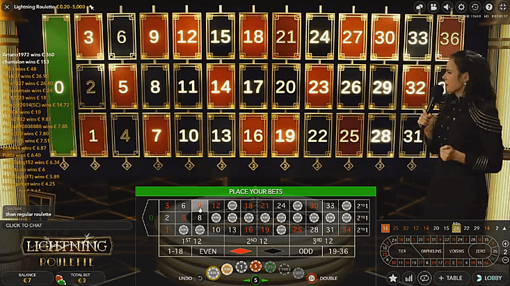 Create European roulette games online for free
